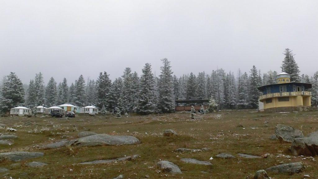 """Der """"Campingplatz"""" im Bogd Khan Nationalpark"""