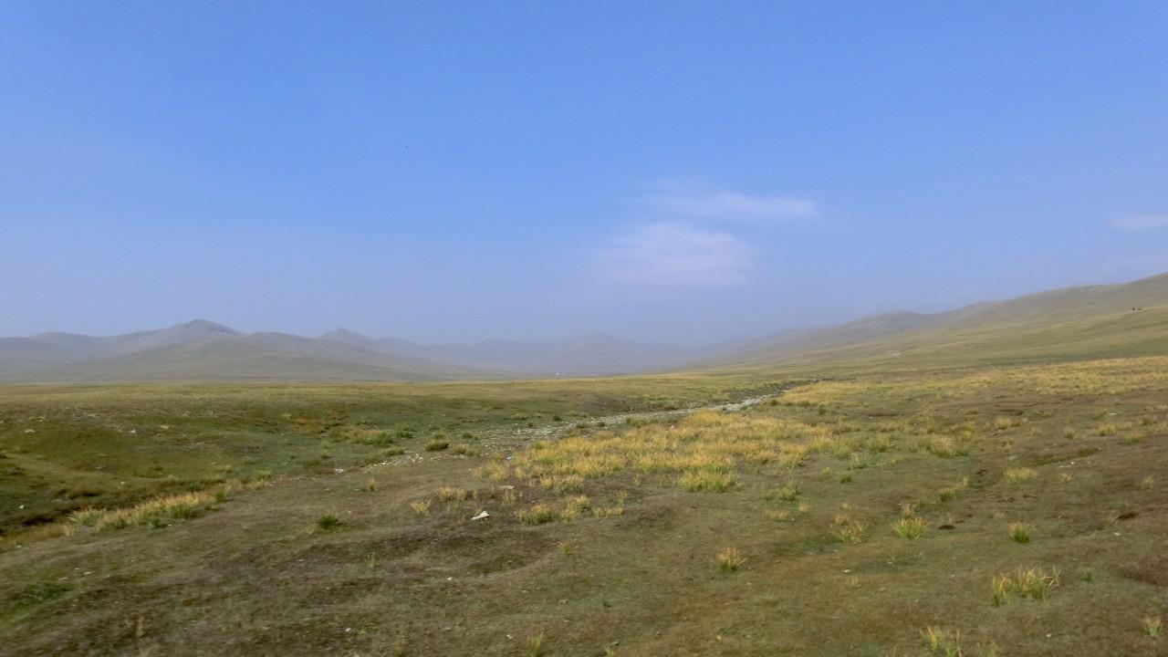 die endlose mongolische Weite