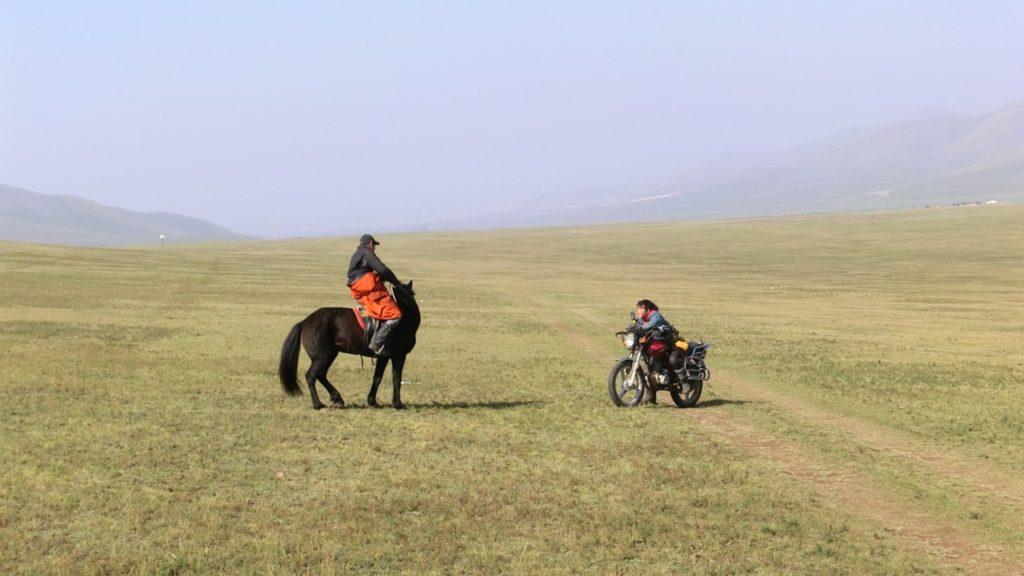 Nach dem Pferd das beliebteste Fortbewegungsmittel: das Motorrad