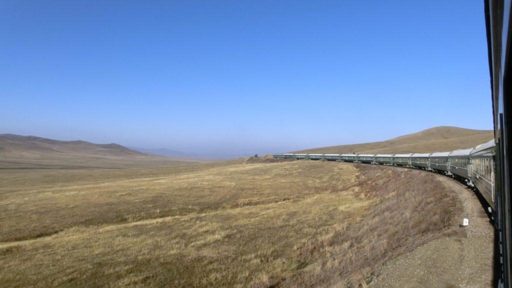 Die Transmongolische Eisenbahn
