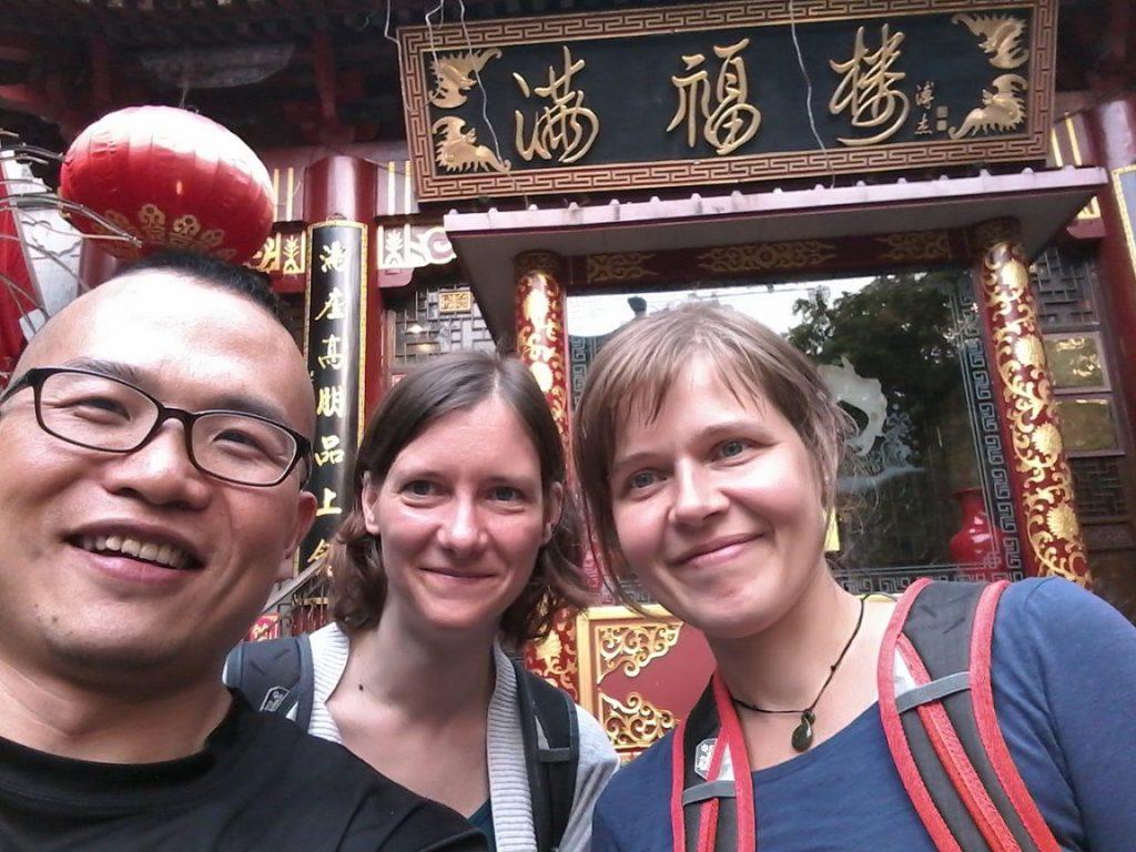 Mak, Kathrin und Birgit