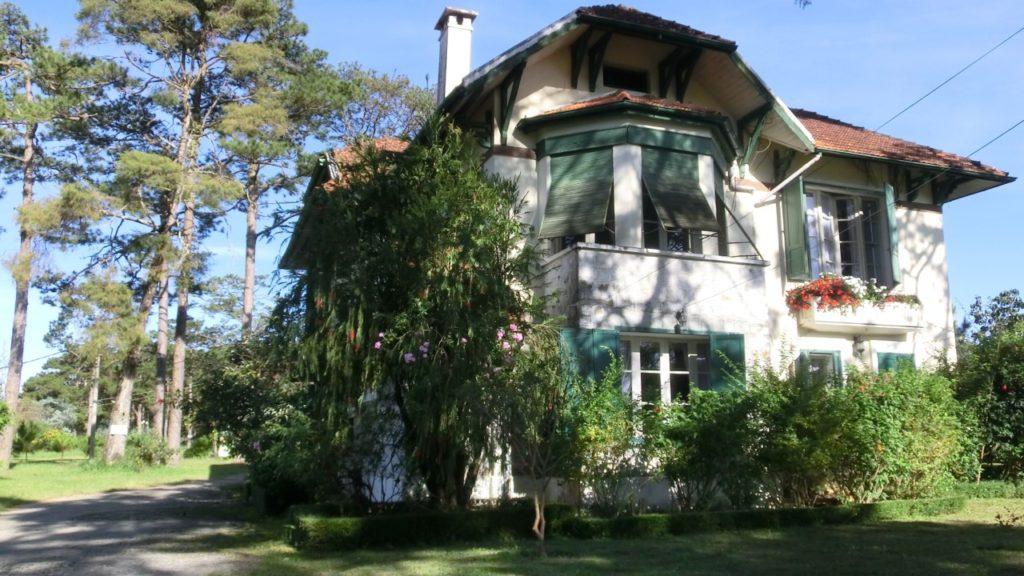 Alte Villa im französischen Viertel
