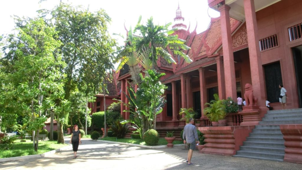 Das Nationalmuseum von Phnom Penh