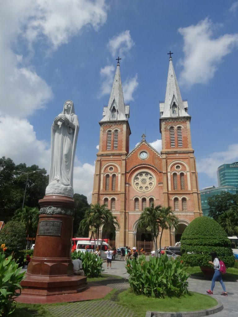 Kathedrale Notre Dame in Saigon