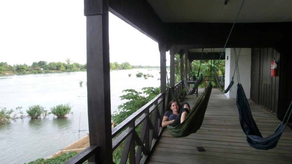 Hängematte mit Flussblick - was will man mehr?